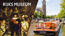 Skip-the-Line Rijksmuseum Amsterdam & 1-Hour Canal Cruise, Amsterdam, City Tours