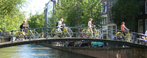 Tour in bicicletta di Amsterdam per piccoli gruppi, Amsterdam, Bike & Mountain Bike Tours