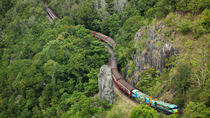 Keine Warteschlangen: Kuranda Scenic Railway Gold Class und Skyrail Rainforest Cableway, Cairns & the Tropical North, Day Trips