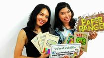 Bangkok Art Workshop: Make a Notebook from Recycled Paper, Bangkok