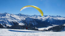 Klosters Paragliding Tandem Flight in Swiss Alps, Swiss Alps, Parasailing