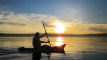 Sunset Sea-Kayaking Excursion on St. Lawrence River, Quebec City, null