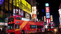 Doppeldeckerbustour bei Nacht durch New York, New York City, Bus & Minivan Tours
