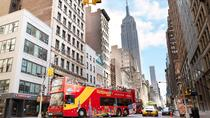 New York City Hop-On Hop-Off Bus Tour with optional Statue of Liberty Ticket, New York City, Hop-on ...
