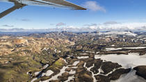 45-Minute Volcanoes, Highlands and Glaciers Sightseeing Flight from Bakki Airport, South Iceland, ...
