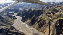 75-Minute South Iceland Sightseeing Flight: Volcanoes, Glaciers and the Highlands, South Iceland, ...