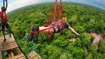 Cenote Maya and Extreme Excursion Zipline ATV Tarzan jump and Cenote Maya, Cancun, 4WD, ATV & ...