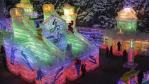 Seasonal Offer: Longqing Gorge Ice Lantern Festival and Badaling Great Wall Day Tour, Beijing,...