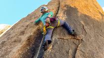Cours d'escalade sportive au parc national de Joshua Tree, Palm Springs, Climbing
