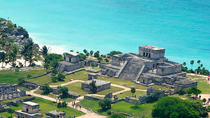 4x1 Tour: Tulum Ruins and Beach Break, Coba and Cenote, Cancun, Day Trips