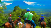 Arenal Volcano Combo 2 Horseback Riding & Baldi Hot Springs Private Tour, San Jose, Horseback Riding