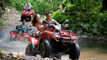 Jungle & Rivers ATV Exploration with Crocodile Safari Boat Tour Shore Excursion, Puntarenas, 4WD,...