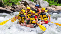 Private Combo Adventure: Whitewater Rafting and Canopy Tour, San Jose, Ziplines