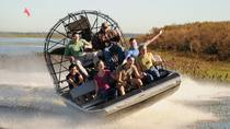 Everglades Airboat Adventure with FREE South Beach Bike Rental, Miami, Airboat Tours