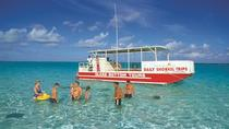 Glasbodenboot Tour nach Stingray City, Kaimaninseln, Fahrten im Glasbodenboot