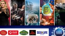 Big Adventures 6 Attraction Ticket Including Madame Tussauds, SEA LIFE Aquarium, London Eye, ...