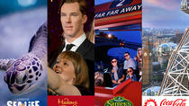BIG London Attraction Ticket inklusive Madame Tussauds, SEA LIFE Aquarium, London Eye und Shrek's ...