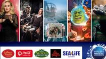 Il Magical London Pass comprende il Madame Tussauds di Londra, il London Eye, il Sea Life London Aquarium, il London Dungeon e Shrek's Adventure Londra, London, Sightseeing Passes