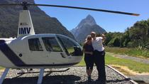 2-Hour Milford Sound Helicopter Tour Including Glacier Landing, Wanaka, Helicopter Tours
