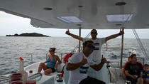 Tropical Catamaran Beach sailing and snorkel tour, St Maarten, Day Cruises