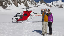 Fox and Franz Twin Glacier Helicopter Flight from Franz Josef, フランツジョセフとフォックス氷河