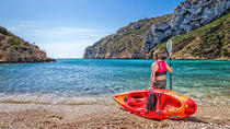 Guided Kayak Tour of Playa de La Granadella, Costa Blanca