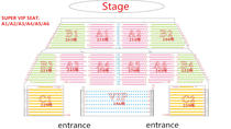 Super VIP Seat of Tianmen Fox Fairy Show with Private Transfer