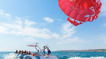 Parasailing from Albufeira Marina by Boat, Albufeira, Parasailing