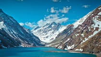 Inca Lagoon in Portillo Andes Mountains and Tasting at San Esteban Vineyard from Santiago, ...