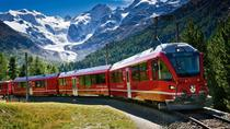 Excursion des Alpes suisses en train Bernina Express au départ de Milan, Milan, Rail Tours