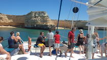 Half Day Coastline Caves Cruise from Vilamoura by Catamaran, The Algarve, Catamaran Cruises