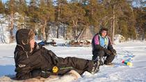 Ice Fishing Safari to Lake Inari from Inari-village, Lapland, Fishing Charters & Tours