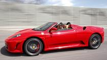 Ferrari Sports Car Passenger Experience from Archerfield, ブリスベン