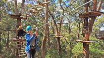 Mornington Peninsula Enchanted Adventure Garden Tirolesa y Canopy Tour, Península de Mornington, Tirolinas / Zipline