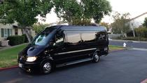Napa Valley wine tour in 12 passenger Mercedes Benz party bus limousine, ナパとソノマ