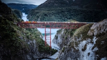 Arthur's Pass Day Tour including TranzAlpine Express Train from Christchurch, Christchurch, 4WD, ...