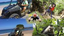 BEACH-MOUNTAIN & ZIP-LINE BUGGY TOUR, Liberia, Ziplines
