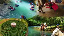 BLUE RIVER COMBO: WHITE WATER TUBING-HORSE BACK RIDING & LABYRINTH TOUR, Liberia, Tubing