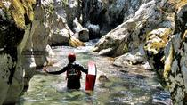 Canyoning on the Rakitnica river, Sarajevo, Climbing