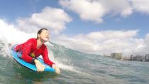 Oahu Bodyboarding Lessons with a Private Instructor Right Outside Waikiki, Oahu, Surfing Lessons