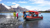 Bear Glacier Kayak aventure avec le transport Jetboat, Seward