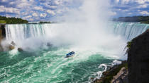 Niagara Falls Canadian Side Tour and Maid of the Mist Boat Ride, Cataratas do Niágara e ...