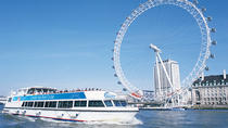 London Eye: Elvecruise med valgfri standardbillett til London Eye, London, Dagscruise