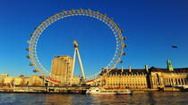 London Eye: Thames River Cruise Experience with Optional Standard London Eye Ticket, London, Day ...