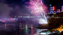 Niagara Falls Illumination Tour with Evening Fireworks Show and Buffet Dinner, Toronto, Day Trips