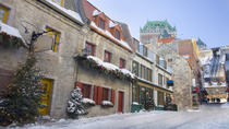 Christmas in Quebec City: Small-Group Gourmet Food Tour, Quebec City, Helicopter Tours