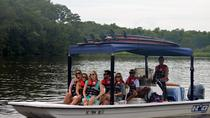 Guided Paddleboard and Boat Tour of Sandy Island SC, South Carolina, Stand Up Paddleboarding