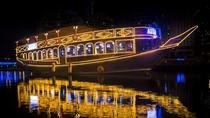 Traditional dhow cruise marina sightseeing tour with Buffet dinner, Dubai, Dinner Cruises