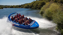 Taupo Adventure Combo: Jet Boat Ride and Whitewater Rafting , Taupo, Helicopter Tours