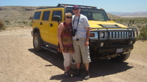 Avontuur in een Hummer naar Red Rock Canyon